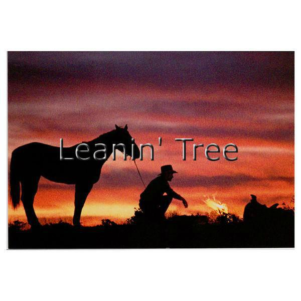 600x600 Leanin Tree Road Less Traveled Cowboy Birthday Greeting Bdt12816