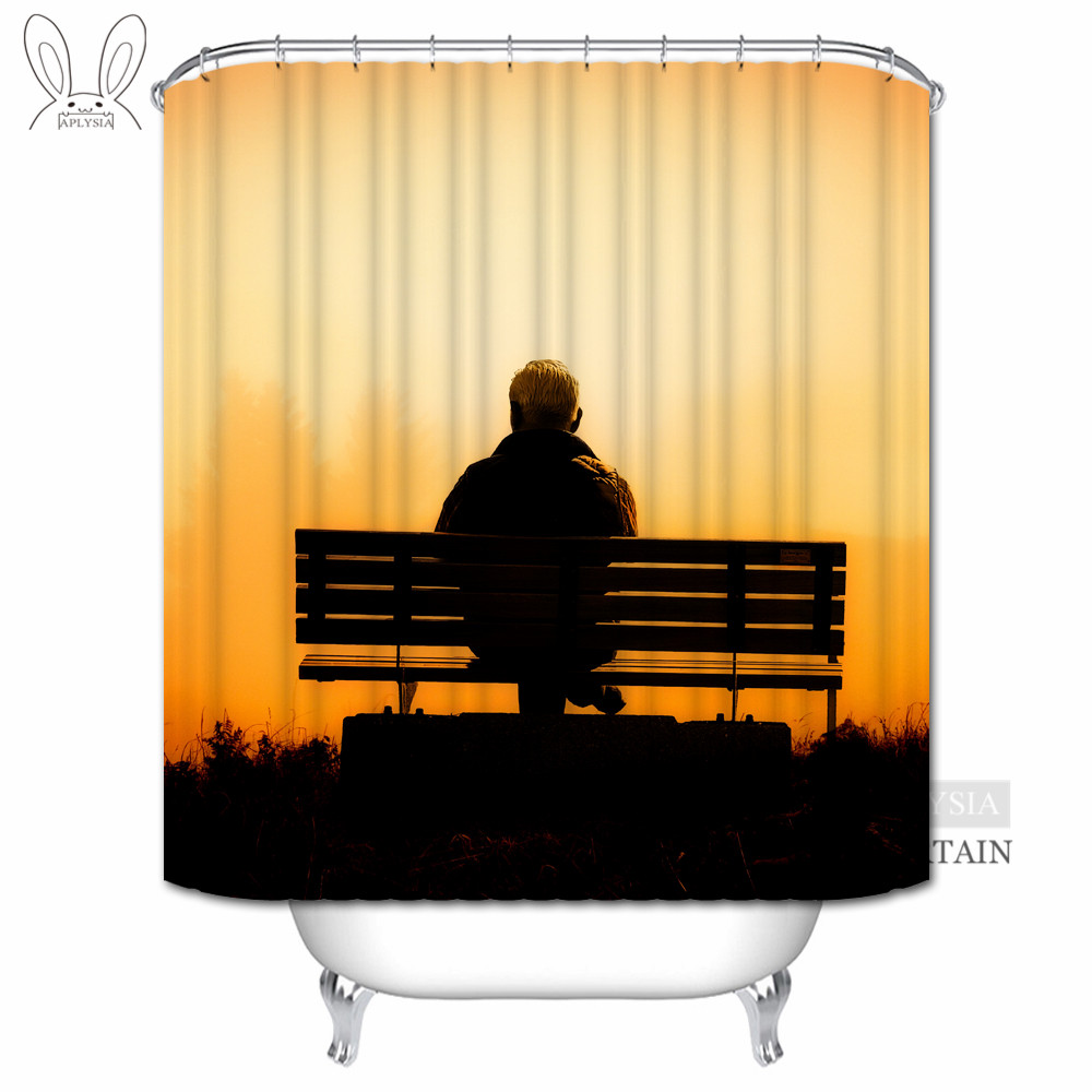 1000x1000 Aplysia Sunset Dawn Shower Curtains Cowboy In The Sun Silhouette