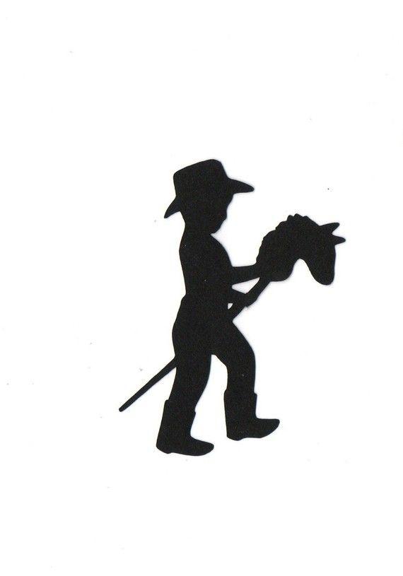 570x815 Baby Cowboy Silhouette