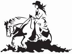 236x177 Reining Horse Silhouette Tattoo Tattoo It! Reining