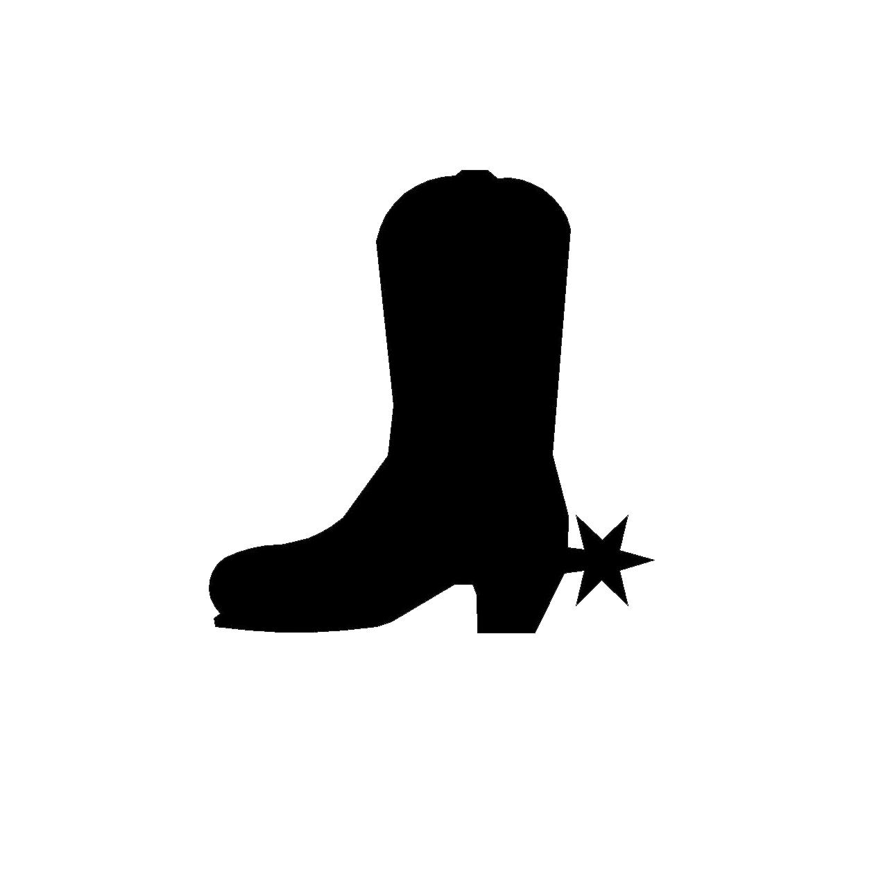 1260x1260 Top Pics Of Black And White Cowboy Boots Coloring Pages Clipart