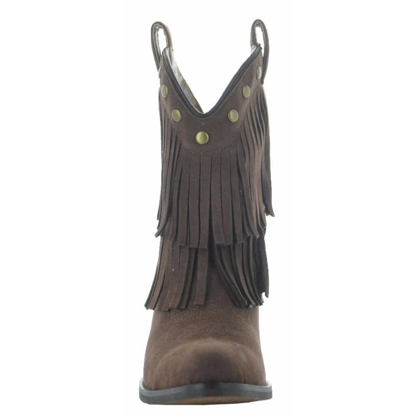 818x818 Little Kids Fun Fringe Cowgirl Boots Soto Boots