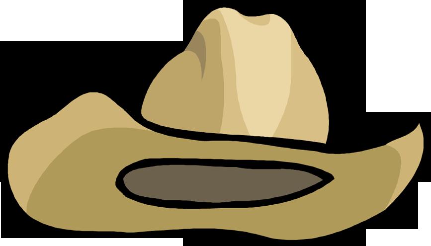 867x495 Clipart Cowboy Hat