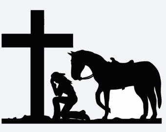 340x270 Praying Cowgirl Etsy