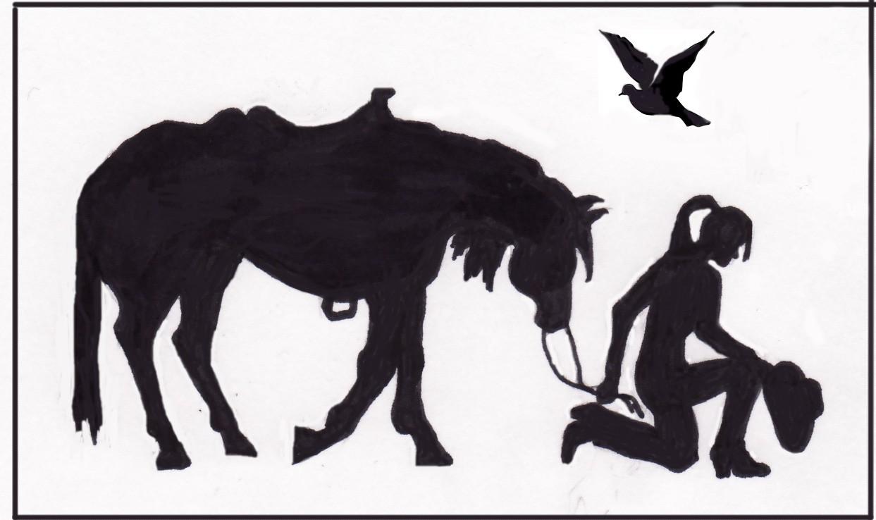 1243x738 Clip Art Cowgirl Silhouette Clip Art