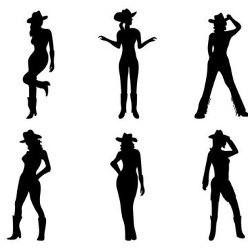 360x360 Cowgirl. Cow Archives My Graphic Hunt