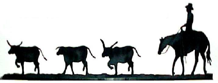 715x272 Cow Clipart Cattle Drive