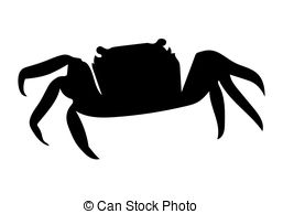 257x194 Crab Silhouette Vector Clipart Eps Images. 2,144 Crab Silhouette