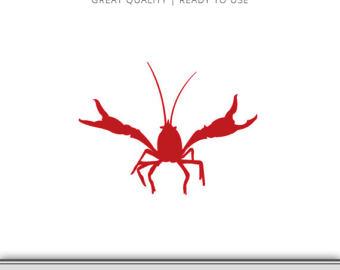 340x270 Crawfish Clipart Silhouette