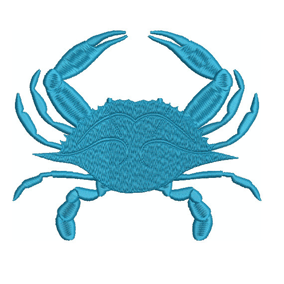 570x570 Free Blue Crab Silhouette Clipart