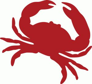 crab silhouette clip art at getdrawings com free for personal use rh getdrawings com blue crab clipart free