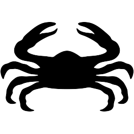 263x262 New Silhouettes Crab, Crane, Cricket, And More