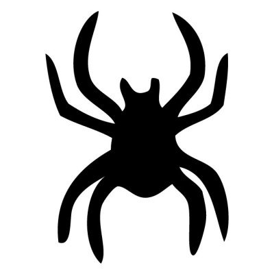 400x400 Spider Clipart Silhouette
