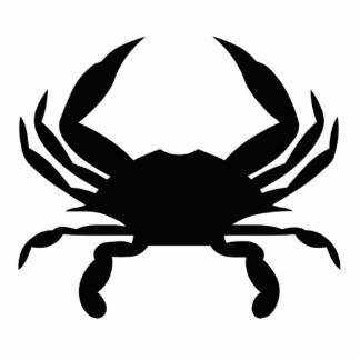 324x324 Crab Black And White Clipart