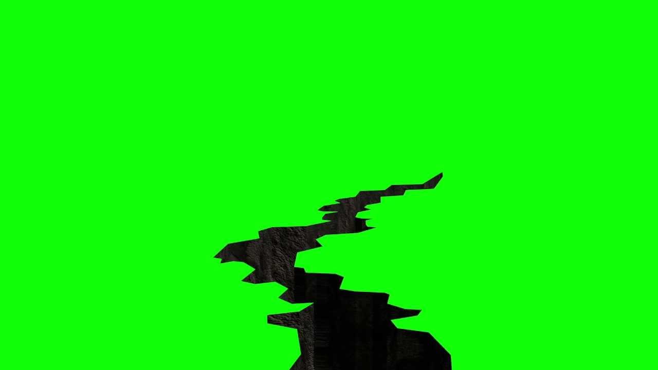 1280x720 Free Hd Animated 3d Greenscreen Ground Crack
