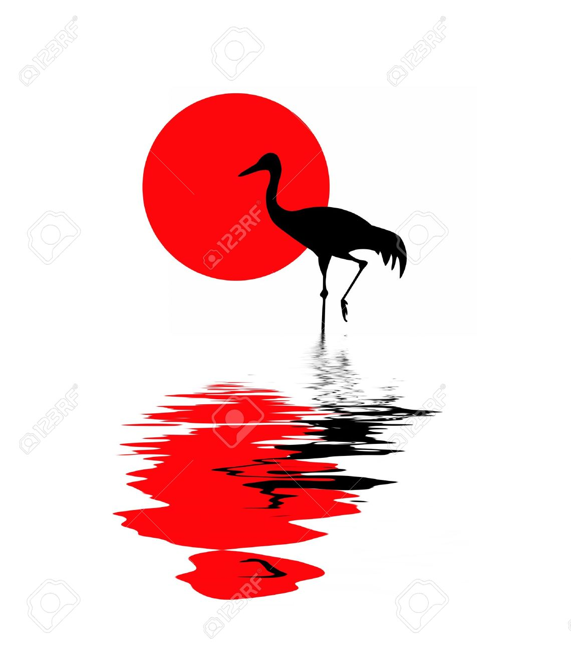 1140x1300 Japanese Crane Clipart Crested Crane Many Interesting Cliparts