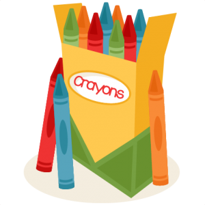 300x300 Box Of Crayons Miss Kate Cuttables Dibujos