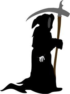 226x300 Halloween Horror Scary Window Silhouette Grim Reaper Death