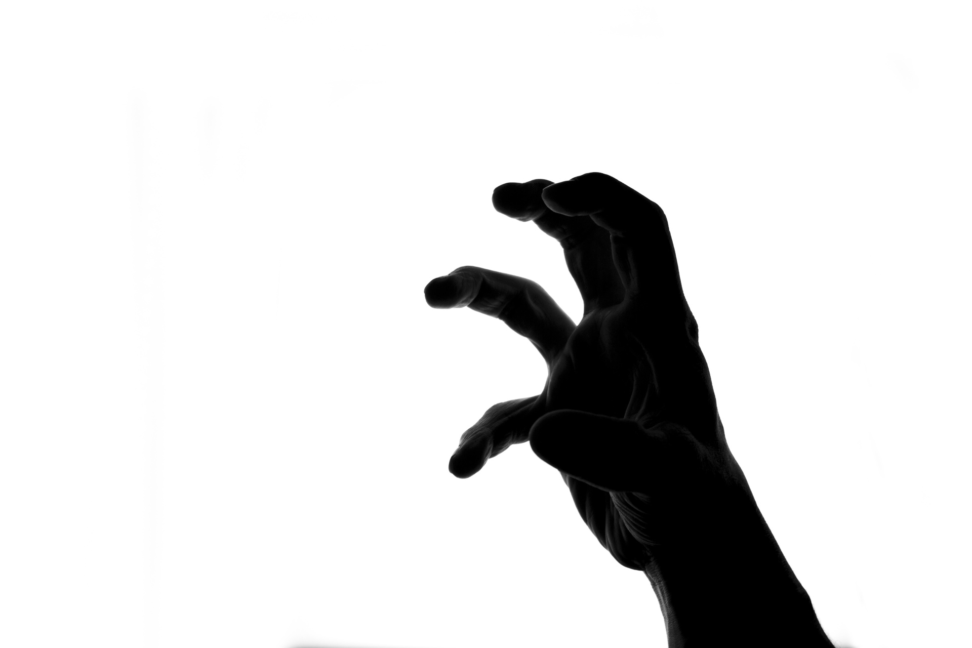 1920x1280 Silhouette Of Scary Hand Free Stock Photo