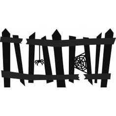 236x236 Creepy Gate Silhouette Design, Silhouettes And Scrapbook