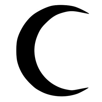 crescent moon images