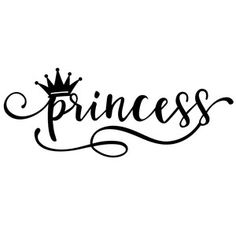 236x236 Birthday Girl And Crown Cut File, Svg Silhouette File, Cut File