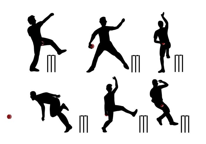 700x490 Cricket Player Vector Free Vectors Ui Download