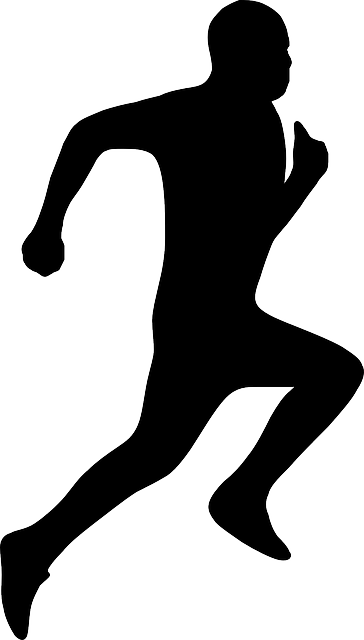 Cross Country Runner Silhouette