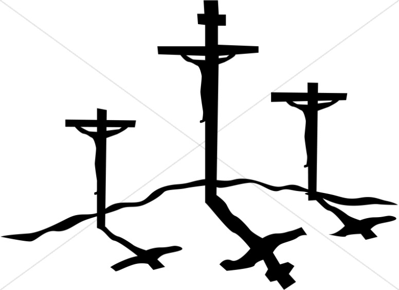 776x565 Crucifxion Silhouettes Cross Clipart