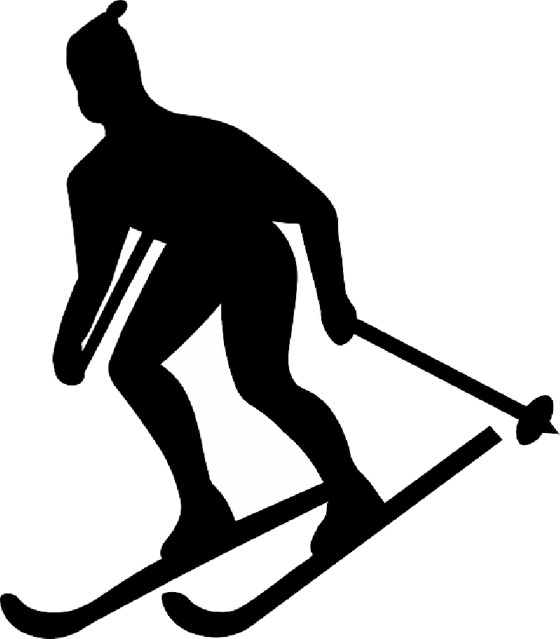 800x912 Country, Outline, Cross, Silhouette, Figure, Skier