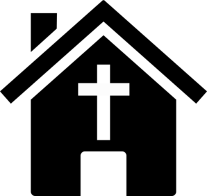 298x282 Church Silhouette Clipart