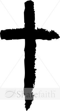 210x388 Plain Black Cross Tattoo For When I Get Up The Nerve