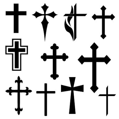 384x384 24 Best Cross Tattoos Images On Cross Tattoos