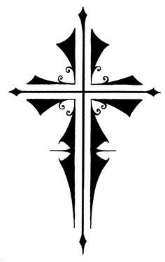236x374 Christ Cross Tattoo Designs Christian Tattos