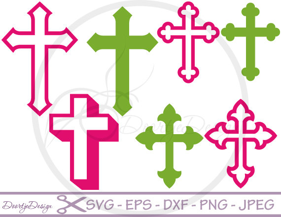 570x440 Cross Svg Files, Dxf Files Cross, Eps Files, Svg Files For Cricut