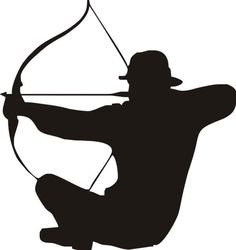 236x250 Bow Hunter Clipart
