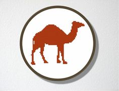 236x181 Camel, Dromedary ~ Full Counted Cross Stitch Kit With All