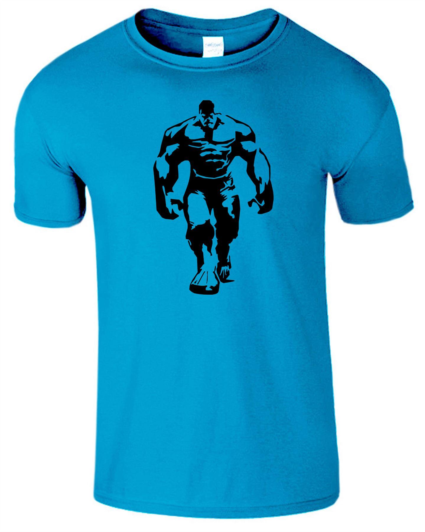 1439x1800 Hulk Silhouette Mens T Shirt Gym Bodybuilding Fitness Training
