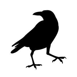 270x270 Raven Silhouette Stencil Favorite Sites! Ravens