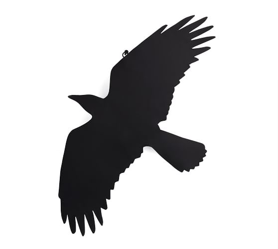 558x501 Silhouette Crows, Set Of 4 Pottery Barn