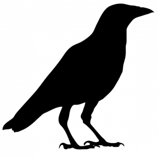 Crow Silhouette Flying at GetDrawings com | Free for