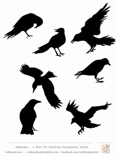 236x314 Raven Silhouette Templates Lovely Free Primitive Crow Pattern Bing