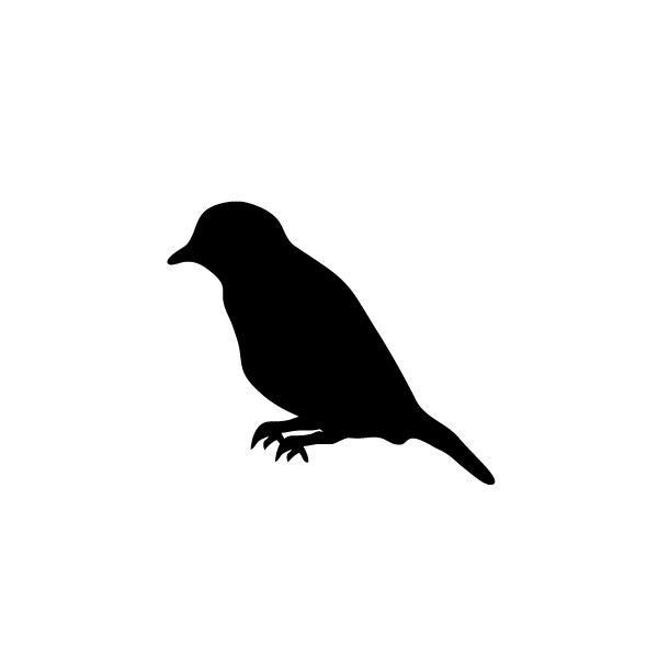 600x600 Tattoo On Clipart Library Bird Silhouette, Swallows And Bird