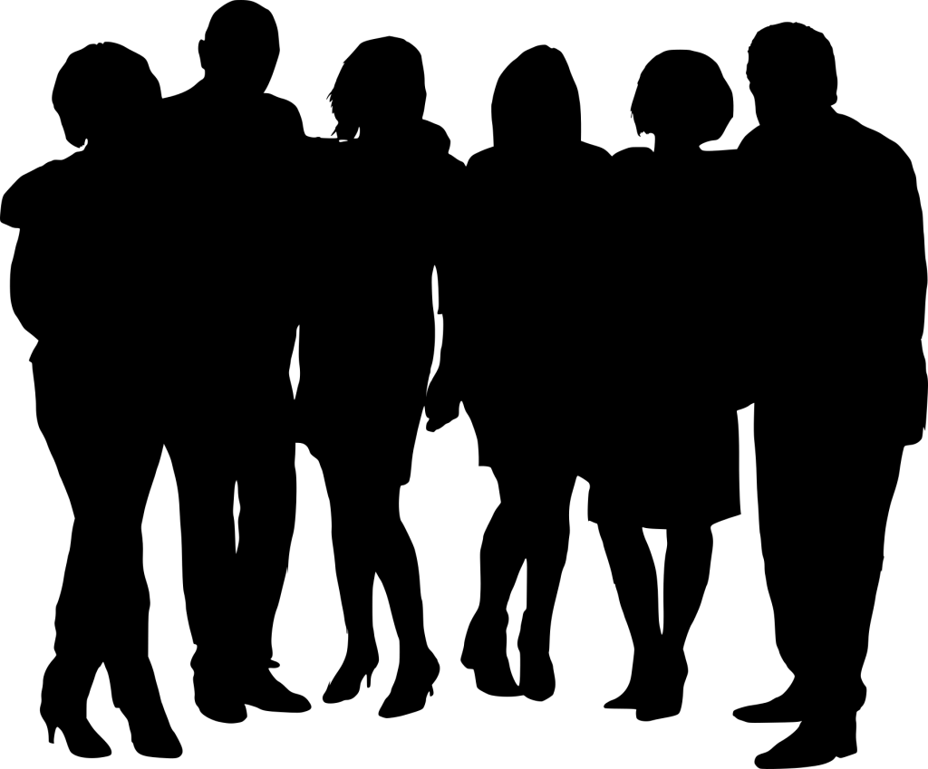 1024x849 10 Group Photo Silhouette (Png Transparent)
