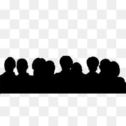 260x260 Crowd, Black, Juvenile Png Image And Clipart For Free Download