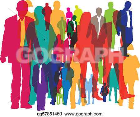 450x375 Crowd Of People Clipart Many Interesting Cliparts