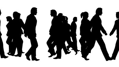 400x226 Crowd Of People Silhouette Clipart Panda
