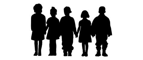 474x199 Kids Playing Silhouette Png Pmp School Zone 1