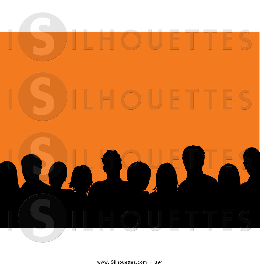 1024x1044 Royalty Free Stock Silhouette Designs Of Crowds