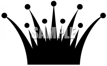 350x218 Crown Silhouette Clip Art